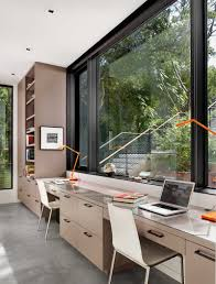 Home Office Pictures by 15 Home Offices Designed For Two People Contemporist