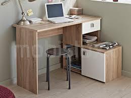 bureau en angle bureau d angle icare chêne blanc chez mobistoxx