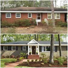 House Makeovers Modern Exterior Paint Colors For Houses Exterior Curb Appeal