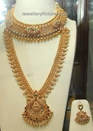 gold wedding necklace set images Wedding necklace set gold gold bridal long chain and necklace set jpg