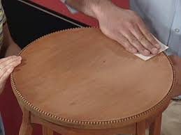 How To Remove Stains From Wood Table How To Stain Wood Furniture How Tos Diy