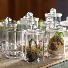 clear canisters kitchen miniature clear apothecary jars gift bags favor bags