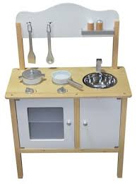 cuisine mini kidzmotion la mini cuisine wooden pretend play kitchen white unisex