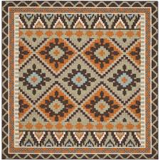 Green And Brown Area Rugs Sierra Green Terracotta Indoor Outdoor Area Rug Rugs Pinterest