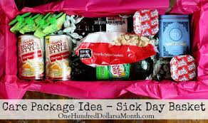care package for college student care packages for college students sick day basket one hundred