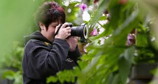 photography at the garden