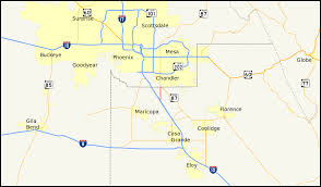 Zip Code Map Mesa Az by Arizona State Route 587 Wikipedia