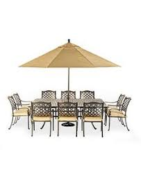 outdoor patio table seats 10 chateau outdoor dining collection created for macy s outdoor