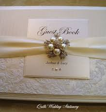 personalized wedding guest book best 25 personalised wedding guest book ideas on
