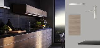 Kitchen Drawer Lights by Akurum Kitchen With Sofielund Light Grey Walnut Effect Doors