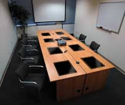 Interactive Meeting Table Computer Conference Tables Meeting Room Tables Team Computer