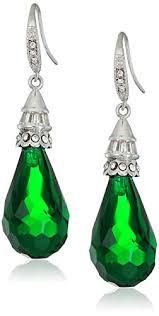 emerald drop earrings best emerald drop earrings