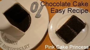 chocolate cake recipe easy cake how to by pink cake princess