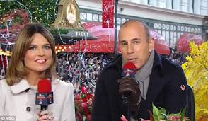 matt lauer faces of criticism for thanksgiving day