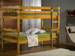 Solid Pine Furniture Bedroom Furniture Weston Ft Single Solid Pine Bunk Beds In A