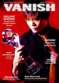 vanish magazine august september 2015 shin lim ebook download