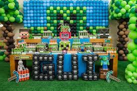 minecraft party decorations minecraft birthday party supplies birthday party ideas