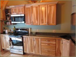rustic hickory cabinets home design ideas