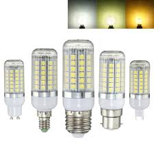 natural light light bulbs new 5050 smd 6w 69 led l bulb e27 e14 b22 g9 gu10 corn led light