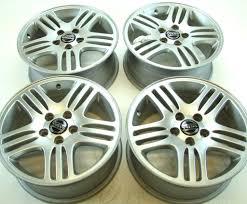 set of 4 volvo oem 16x7 eurus rims wheels for s80 99 06 v70 xc70