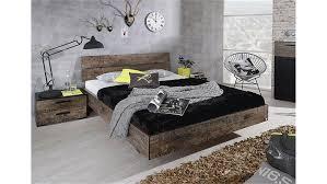 Schlafzimmer Bett Bilder Sumatra Schlafzimmerbett In Vintage Braun 160 Cm