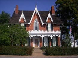 Gothic Revival Homes by Victorian House Plans And Style The Early Years