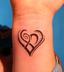 60 sweet heart tattoos for wrist