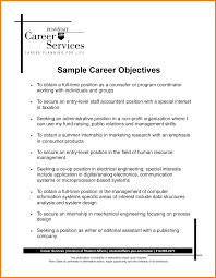 Sample Objectives In Resume For Hrm Sample Objective And Resume Speakspowers Tk