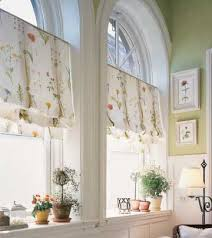 Palladium Windows Window Treatments Designs Arched Window Treatment Idea Kitchen Ideas Intended For Design 8