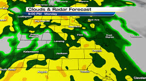 Metro Detroit Map by Metro Detroit Weather Soaking Rains Wind Warmth Ahead