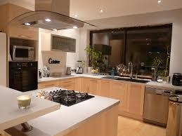 cuisine d aujourd hui changer la baie vitree et faire une credence dans cuisine pour