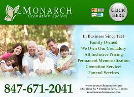 illinois cremation society monarch cremation society cremation services 3201 st