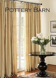 Pottery Barn Curtains Maggie Muggins Designs Faux Silk Pintucked Curtains Inspired By
