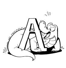 alligator coloring pages and book uniquecoloringpages clip art
