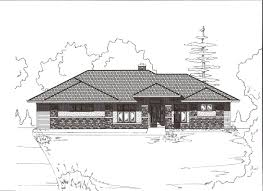 Craftman Style Home Plan Impressive Design Impressive Classic Usonian House Plans With Beautiful Garden