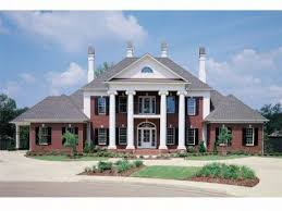 Colonial House Plan by Southern Colonial Style House Plans Federal Style House Colonial