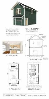 Apartment Garage Garage Plans Craftsman Style One Car Two Story Garage With