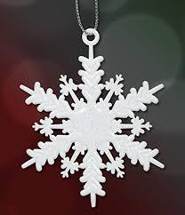 white snowflake ornaments set of 96 small 2 white glitter