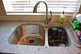 Delta Ashton Kitchen Faucet Mixin U0027 Mom Diy Kitchen Re Do With Subway Tile Backsplash