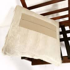 Cowhide Chair Cushions Illum Wikkelsø Lounge Chair With Ivory Cowhide Cushions U2013 Forsyth