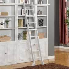 Library Bookcases With Ladder Parker House Boca Library Ladder Wayside Furniture Misc