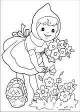 red riding hood coloring pages coloringbook org