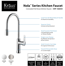 Kitchen Faucets With Sprayer In Head by Kitchen Faucets Kraus Nola U2014 The Sea Ranch House