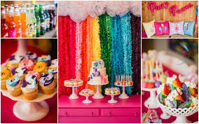 my pony centerpieces how to host a my pony party ally turns 9 cookies