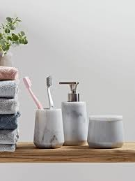 marble bathroom accessories