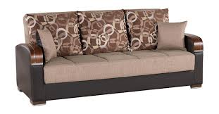 King Koil Sofa by Mobimax Brown Convertible Sofa Bed By Casamode
