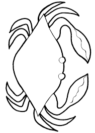 crabs coloring pages crab big claws page