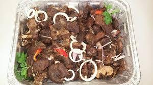 cuisiner le cabri tasso de cabri cubes de chèvre frits haitian comfort food