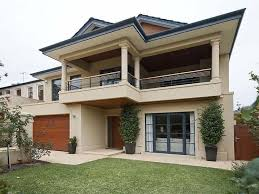 House Colours Brick Modern House Exterior With Balcony U0026 Landscaped Garden