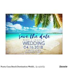 destination wedding save the date ideas destination punta cana beach destination wedding save dates card punta cana